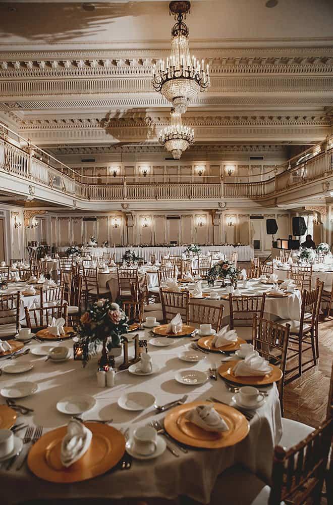 Round Tables | Weddings | Historic