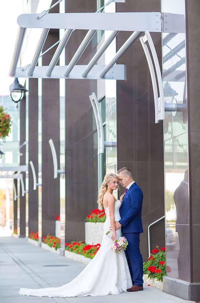 Couple | Bride and Groom | Davenport Grand | Weddings