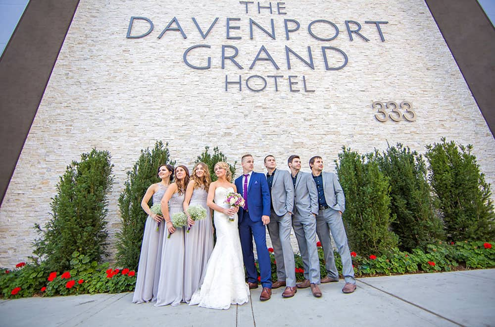 Wedding Party | Davenport Grand | Weddings