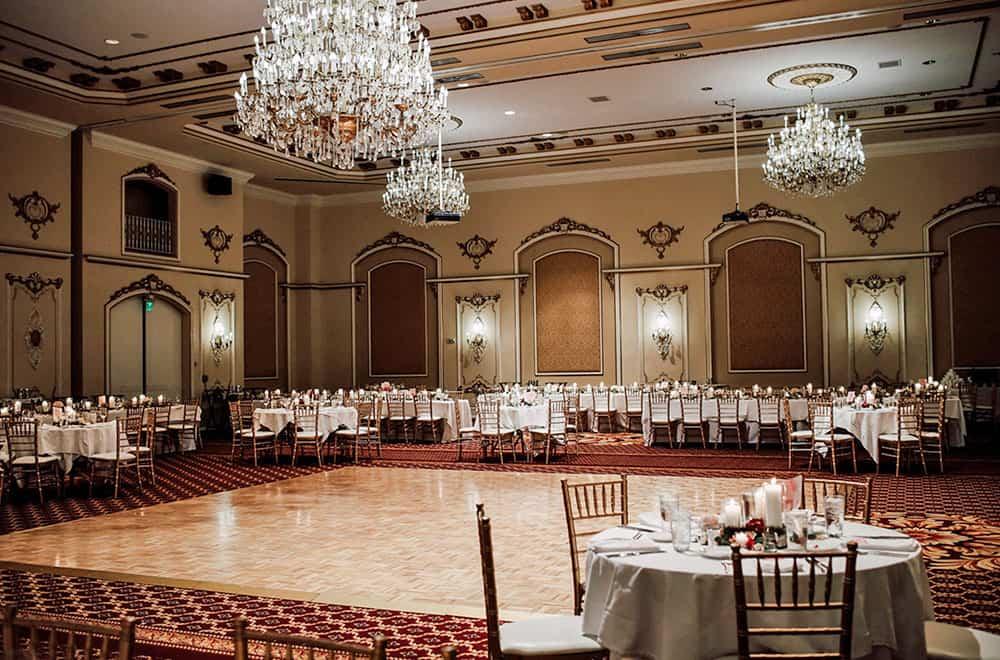 Dance floor at Wedding | Weddings | Historic