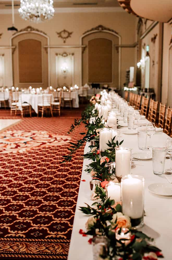Long Tables for wedding | Weddings | Historic