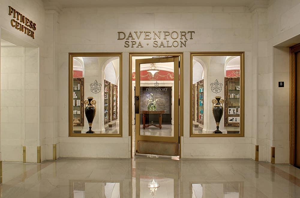 Spa storefront | Historic Davenport