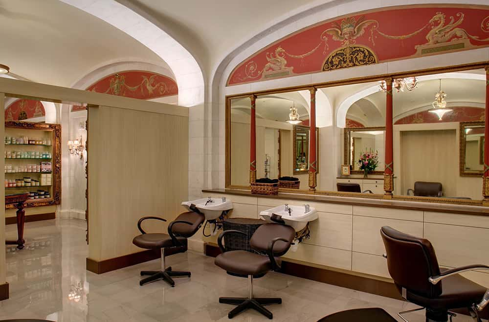 Spa Hair Salon Chairs | Historic Davenport