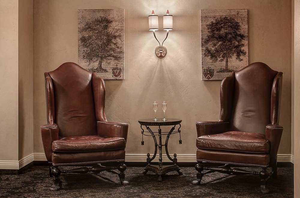 Spa lobby Chairs | Historic Davenport