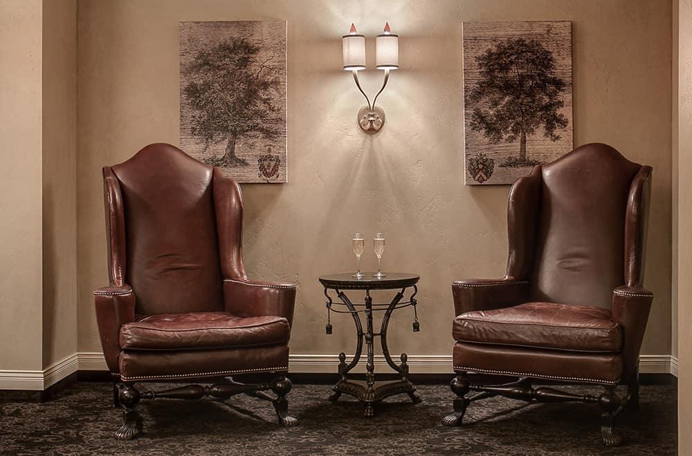 Spa lobby Chairs | Historic Davenport