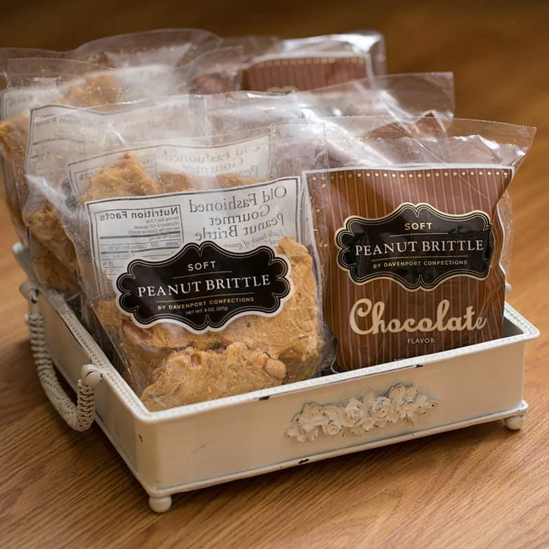 Peanut Brittle Packages | Play | Historic Davenport
