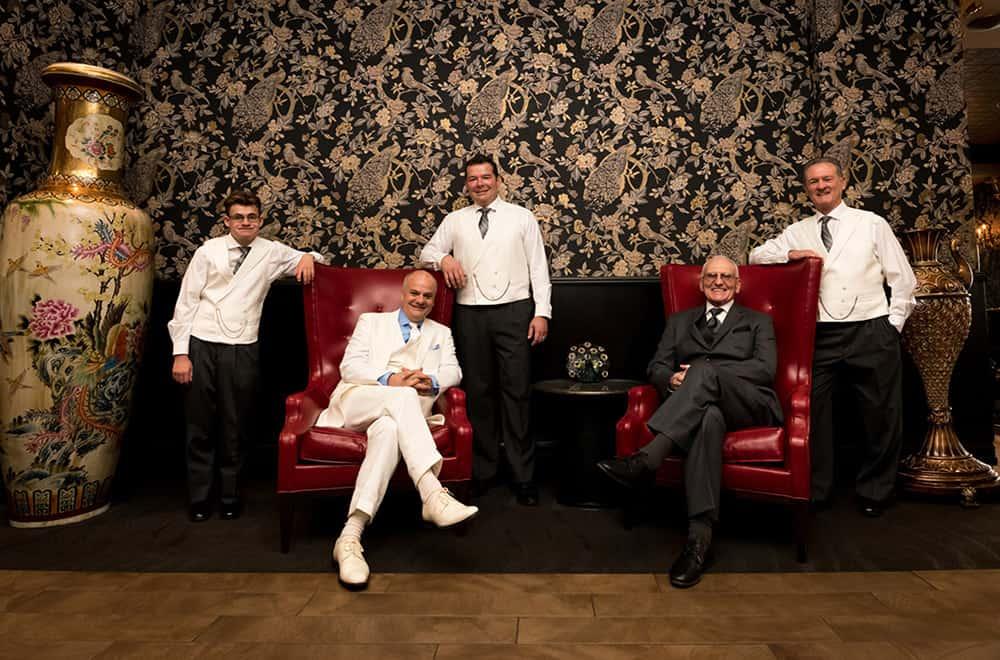 Group of men at Wedding | Weddings | Historic