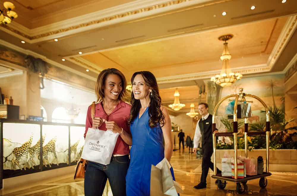 Women Shoppin | Play | Historic Davenport