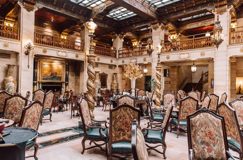 Lobby Chairs | Play | Historic Davenport