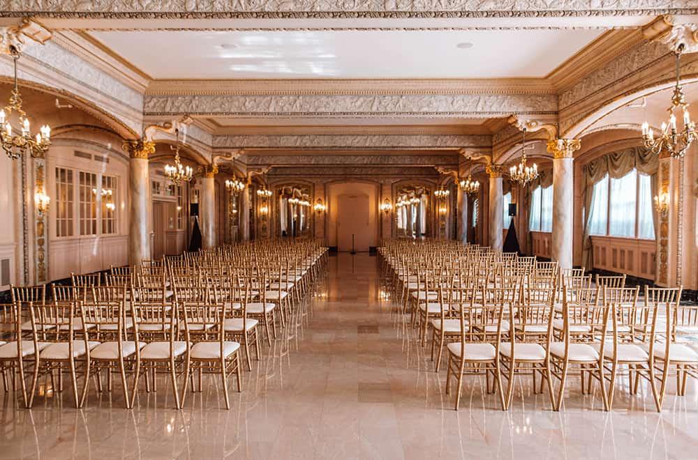 Ceremony Chairs | Weddings | Historic Davenport