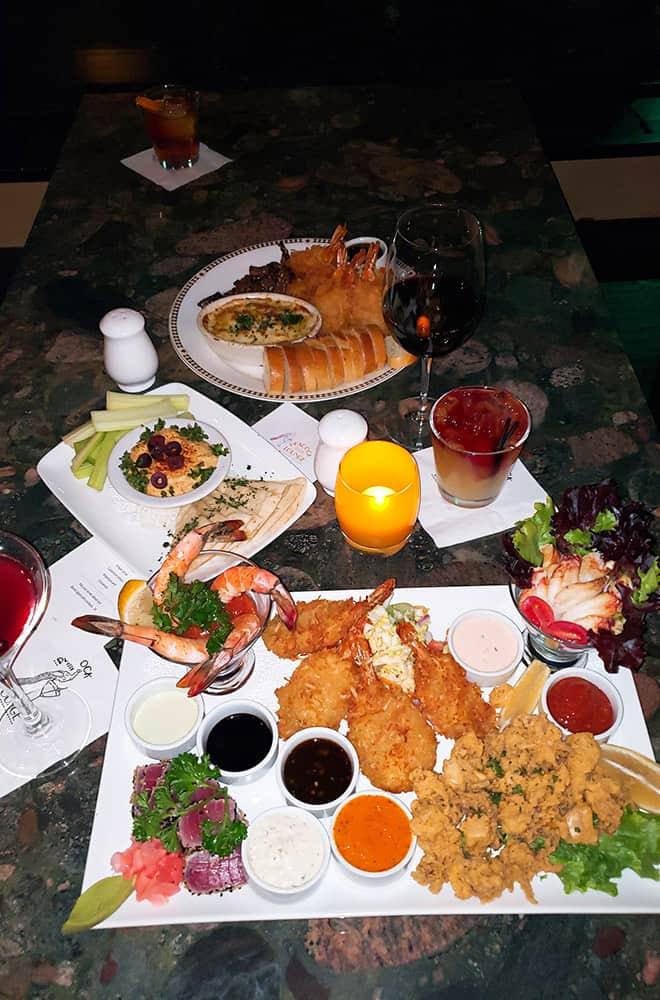 Food Palm Court | Historic Davenport | Dining