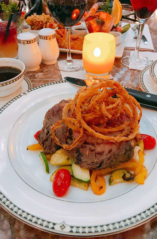 Dinner Food | Historic Davenport | Dining