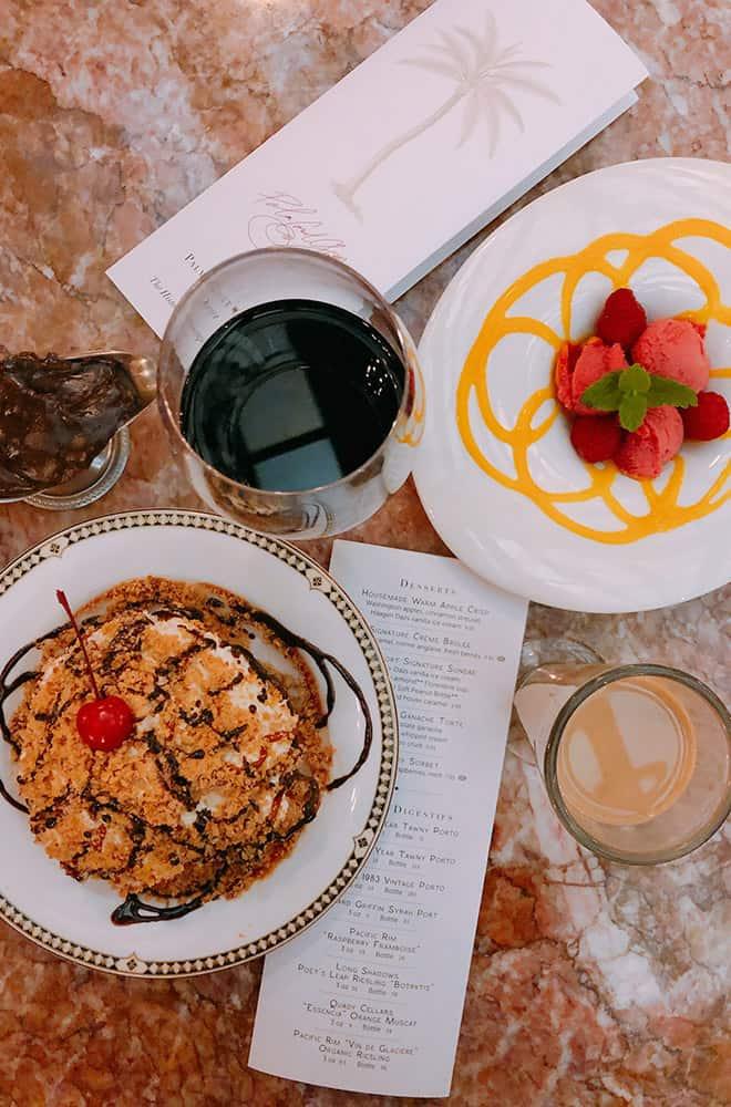 Desert | Historic Davenport | Dining