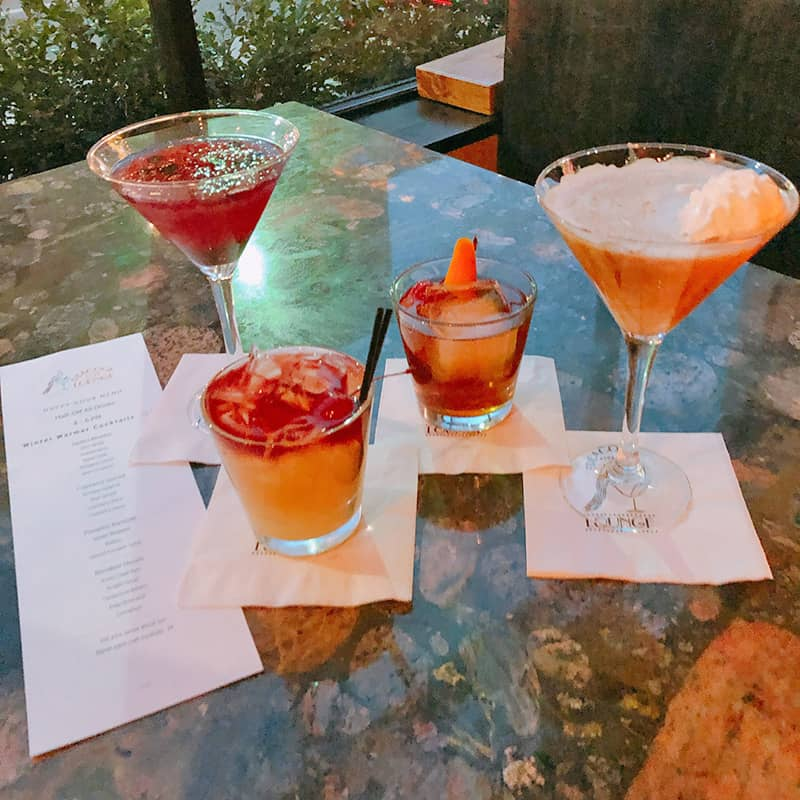 Drinks | Historic Davenport | Dining