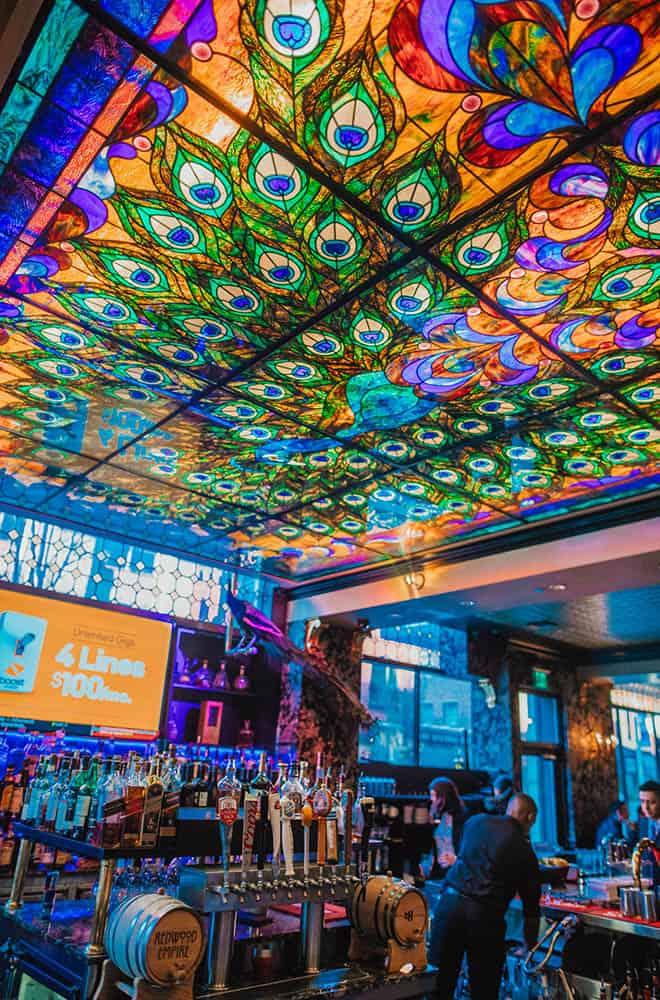Peacock Lounge | Historic Davenport | Bar