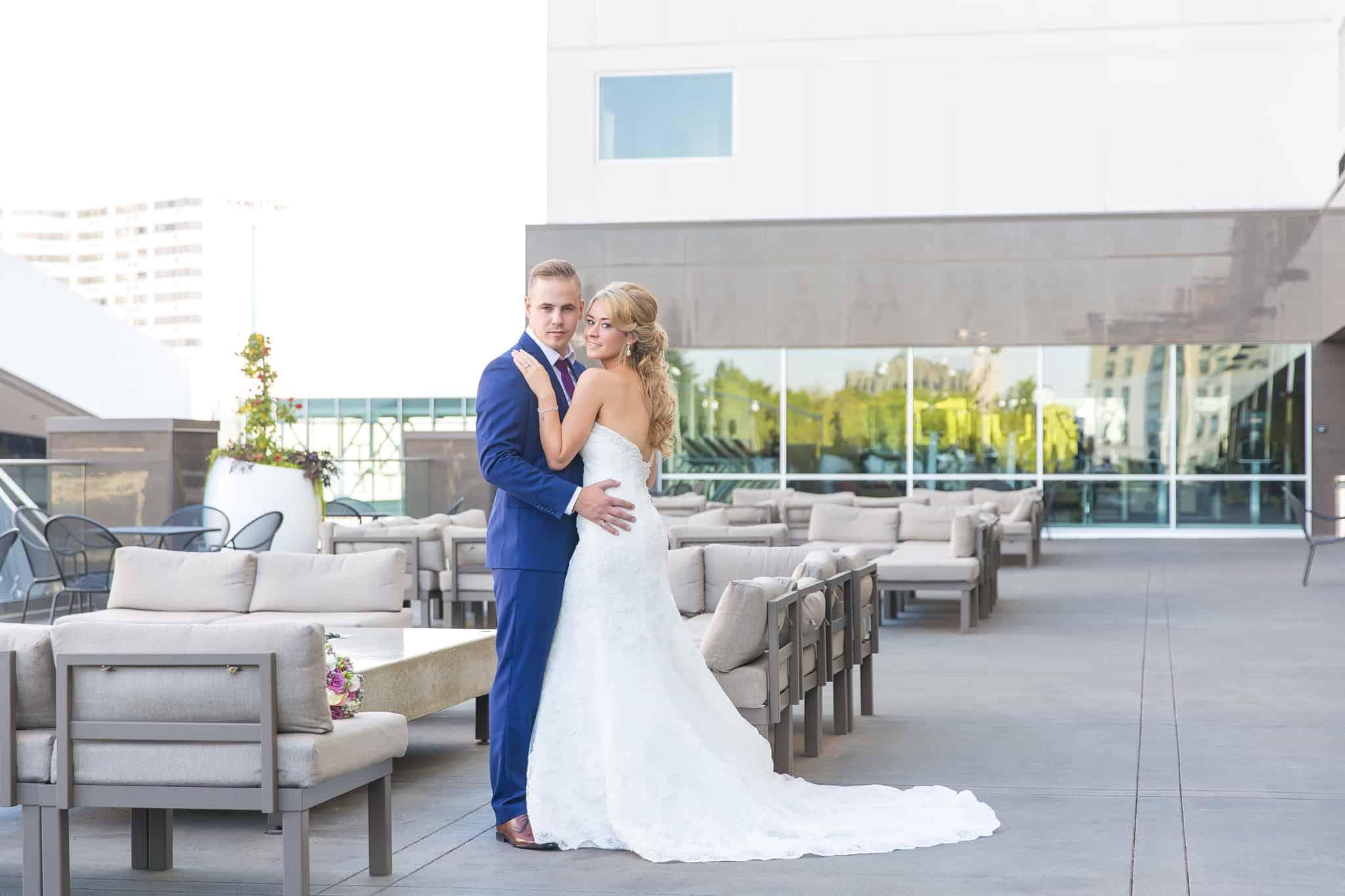 Davenport Grand Wedding Couple