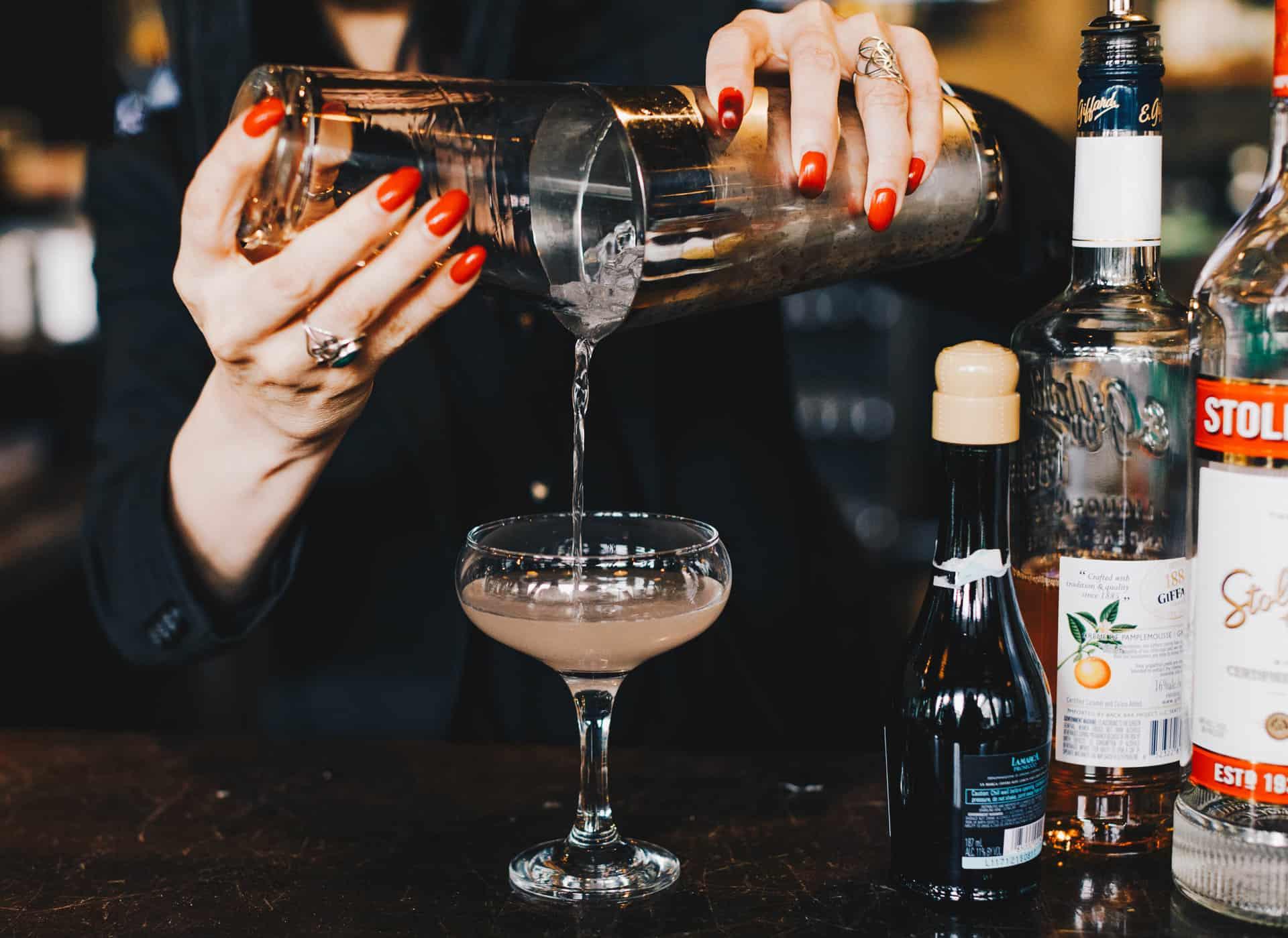 Bartender Making drinks | Davenport Centennial
