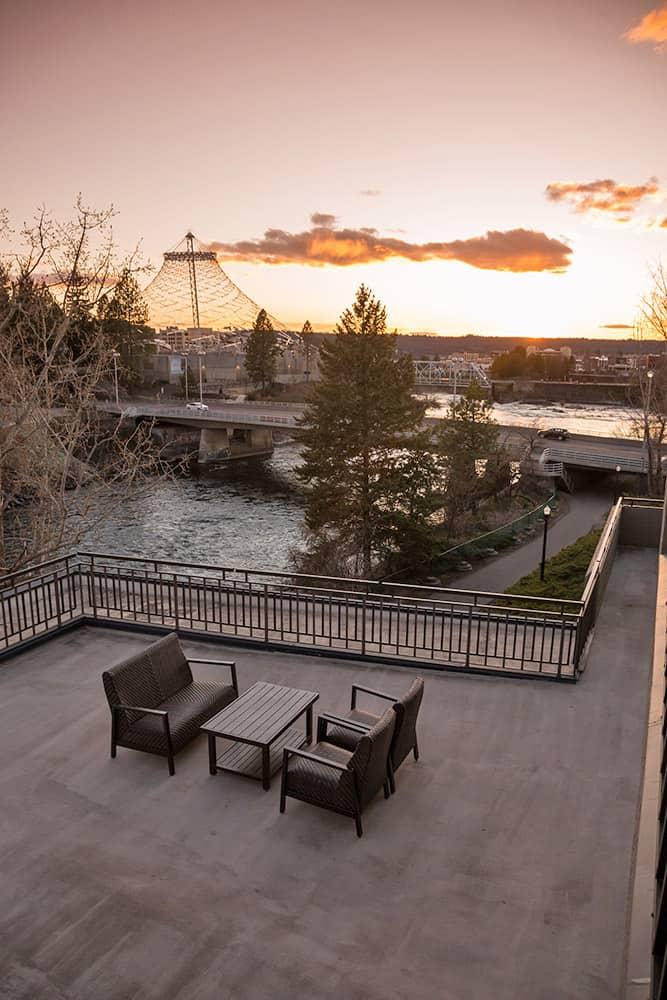 Outside patio | Davenport Centennial