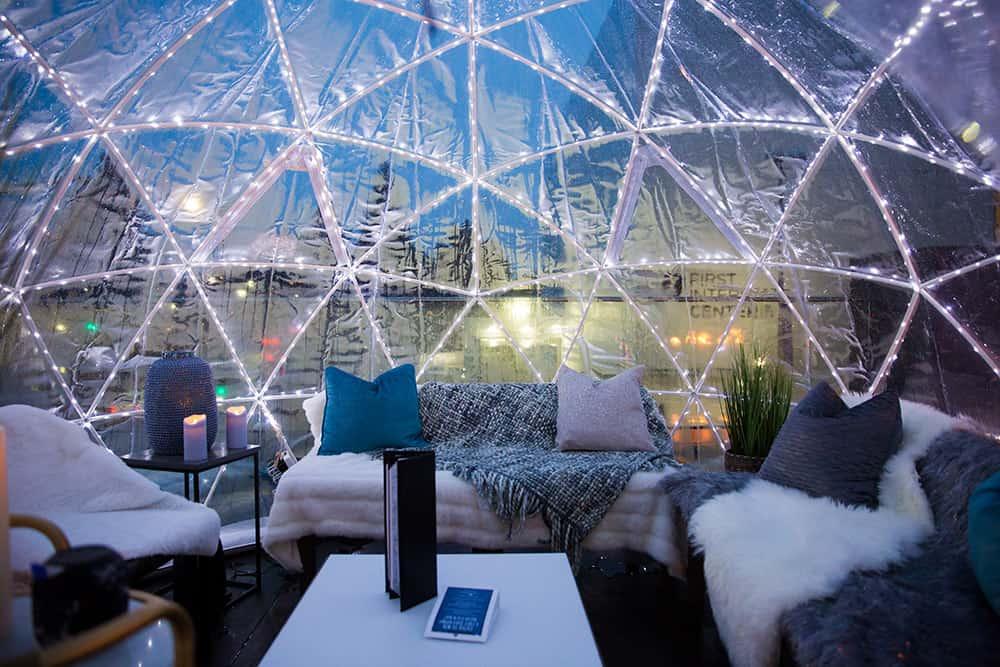 Davenport Grand Winter Terrace Bar