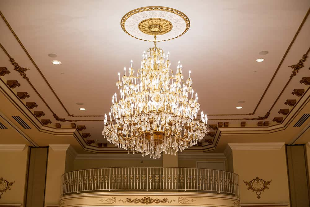 Large chandelier | Historic Davenport