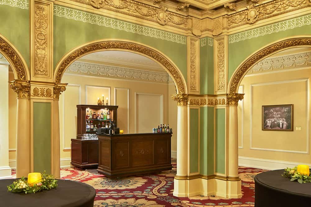 Small Bar in Meeting room | History Davenport
