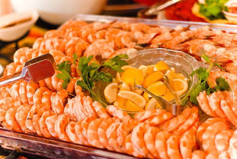 Shrimp platter | Historic Davenport