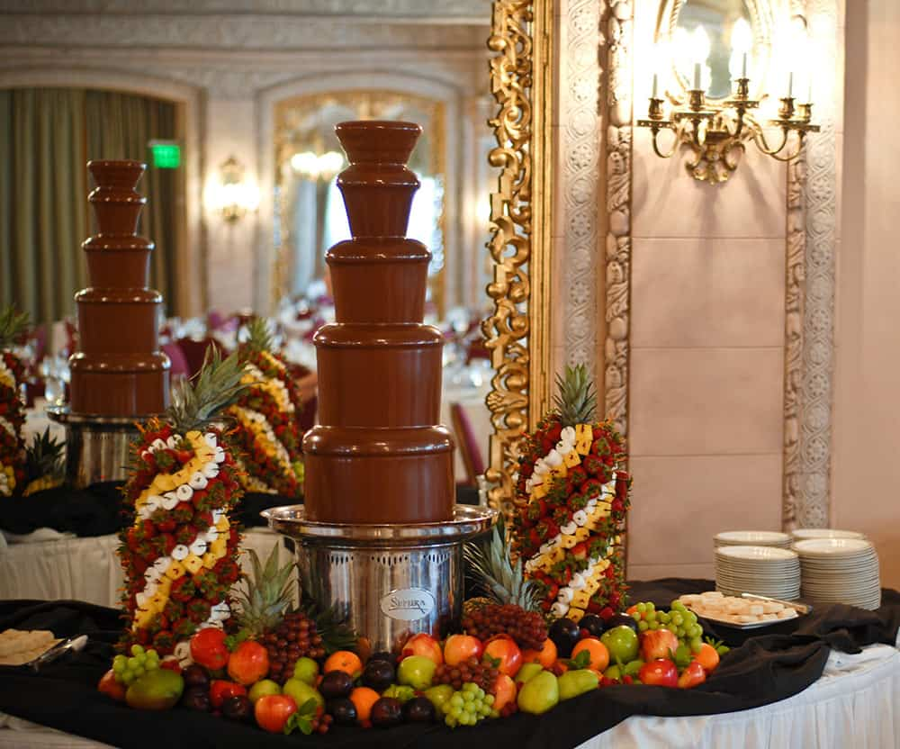 Chocolate Fountain | History Davenport