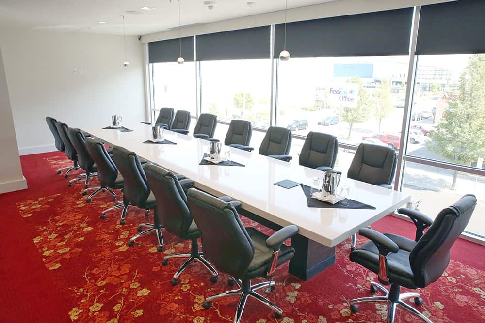 Meeting room with large table | Davenport Grand