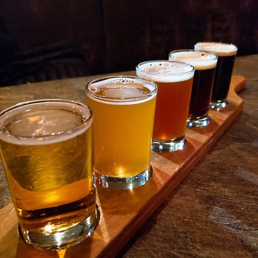 Beer flight | Davenport Lusso