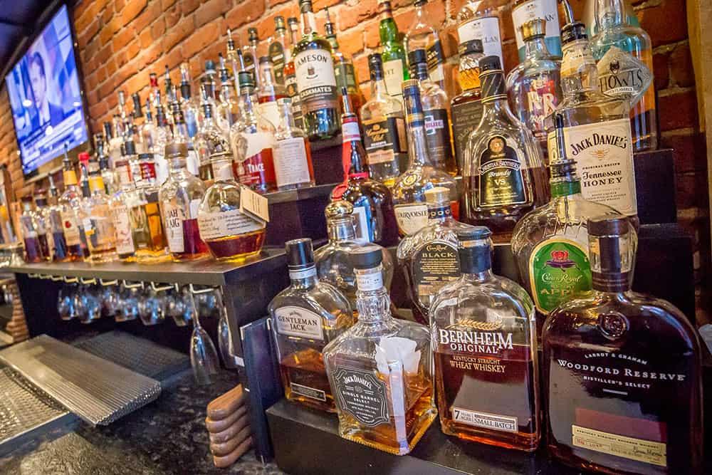 Liquor bottles | Davenport Lusso