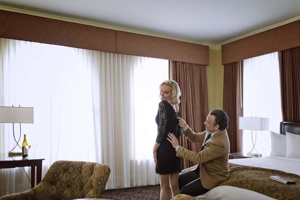 Couple in room | Davenport Lusso