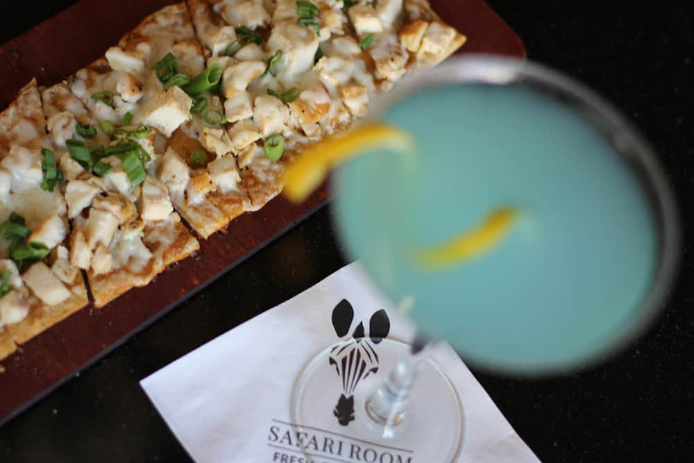Bar drink and Flatbread | Davenport Tower