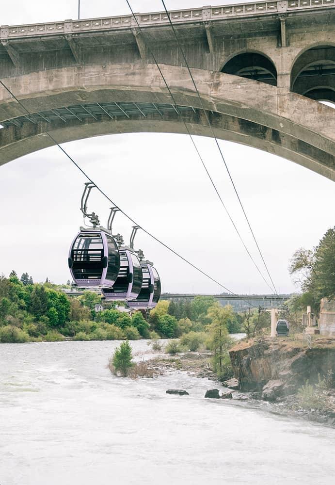 Gondola Lift over river | Davenport Lusso